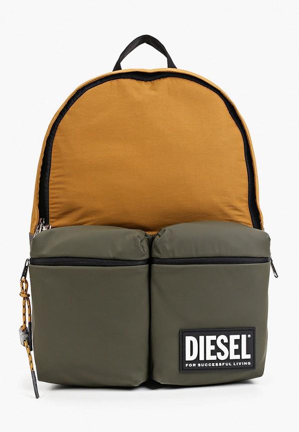мужской рюкзак diesel, коричневый