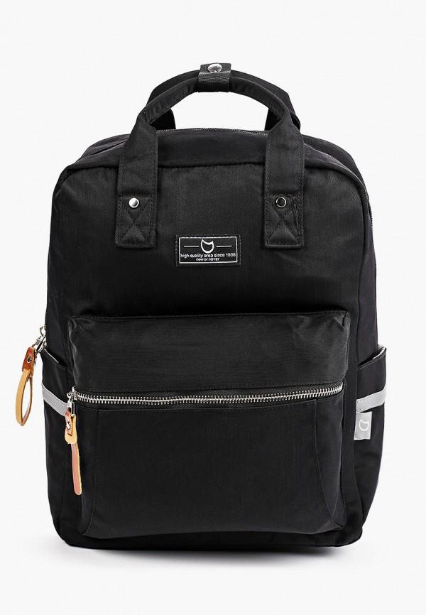 рюкзак котофей для мальчика, черный