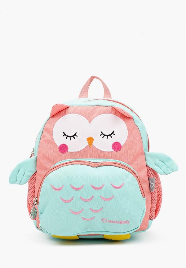 рюкзак котофей для девочки, разноцветный