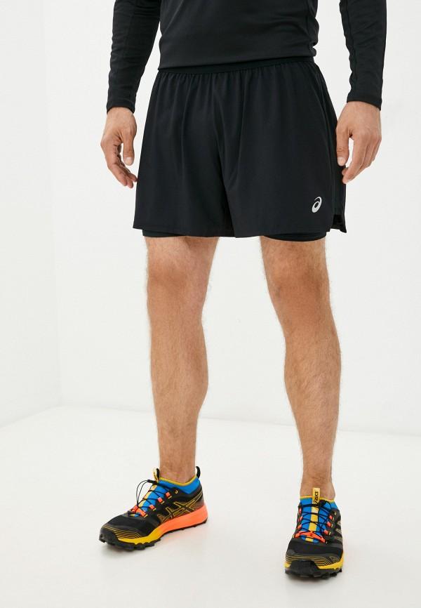 мужские спортивные шорты asics, черные