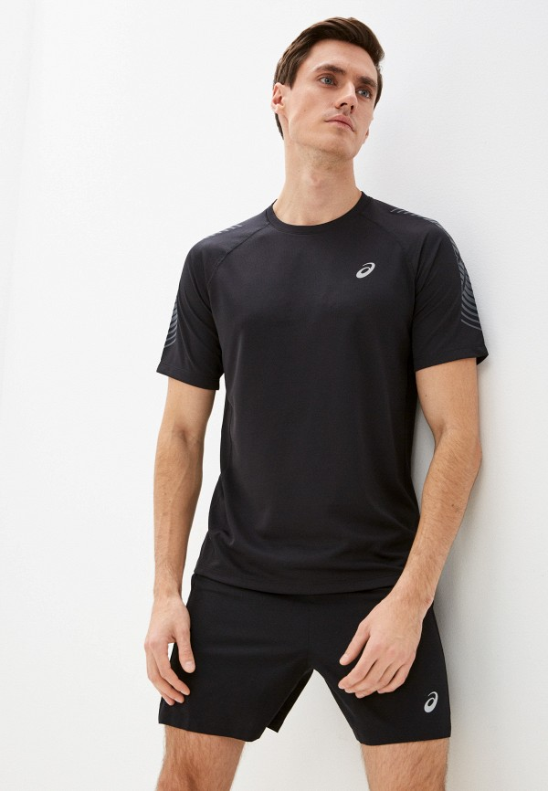 мужская спортивные футболка asics, черная