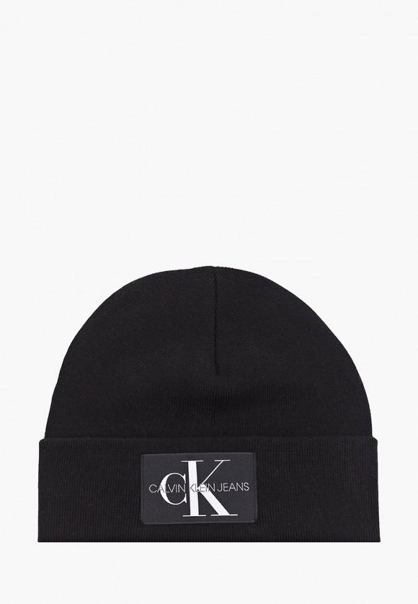 мужская шапка calvin klein, черная