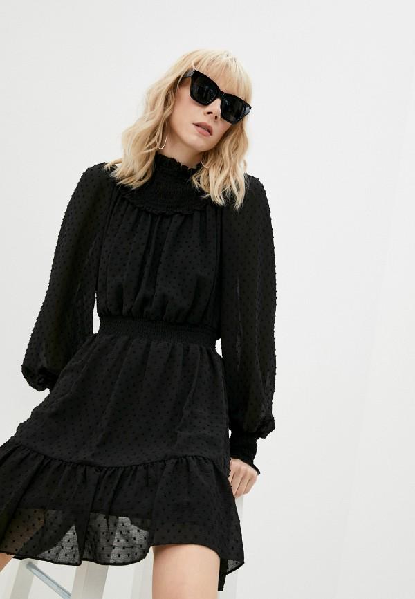 женское повседневные платье michael kors, черное