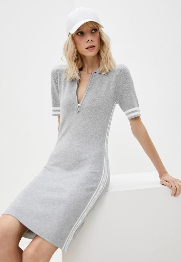 женское платье-свитеры michael kors, серое
