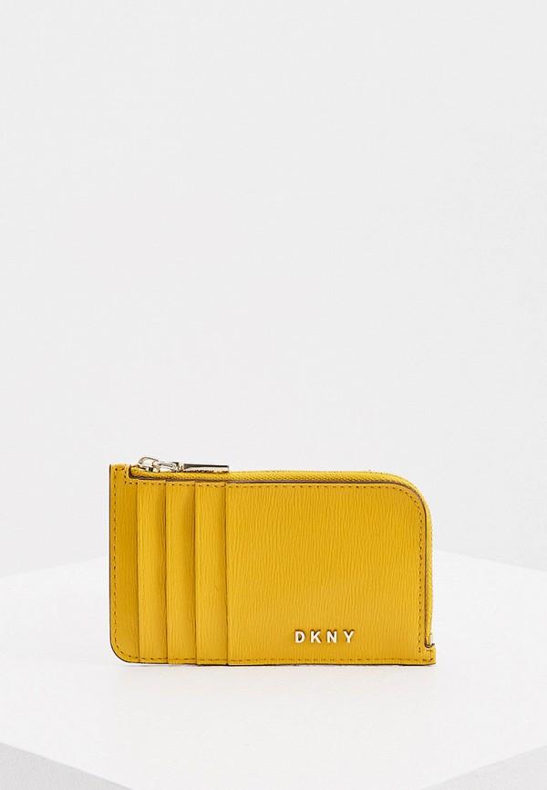 женский кошелёк dkny, желтый