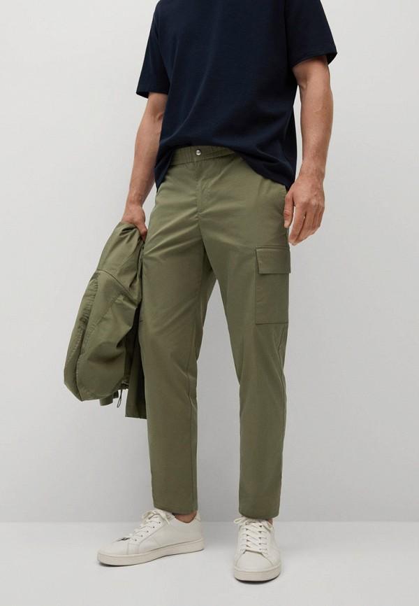 мужские брюки mango man, хаки