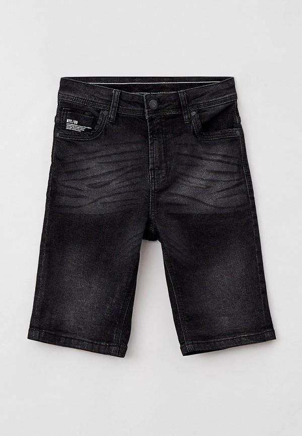 джинсовые шорты blukids для мальчика, черные