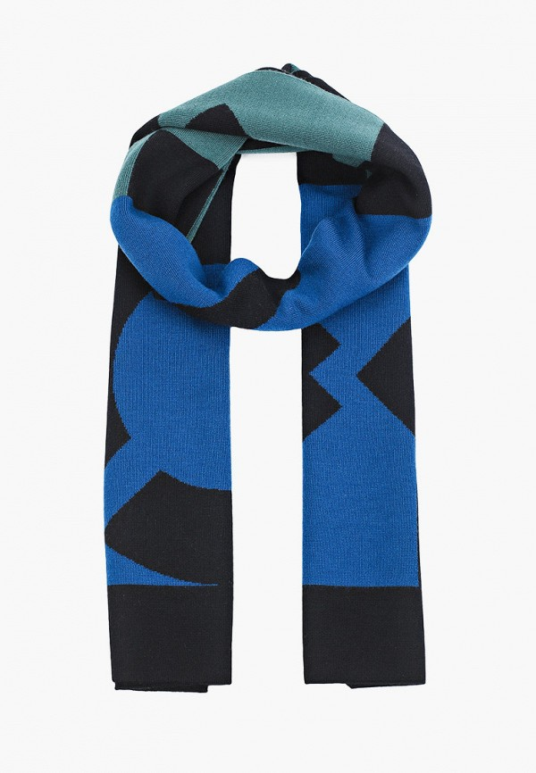 женский шарф kenzo, разноцветный