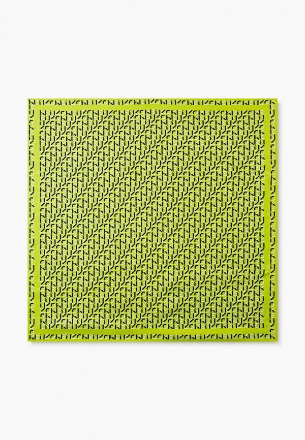 женский платок kenzo, зеленый