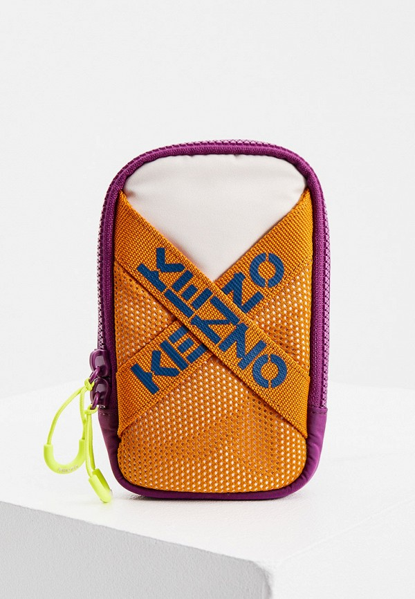 женская сумка через плечо kenzo, разноцветная