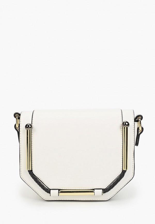женская сумка через плечо max & enjoy, белая