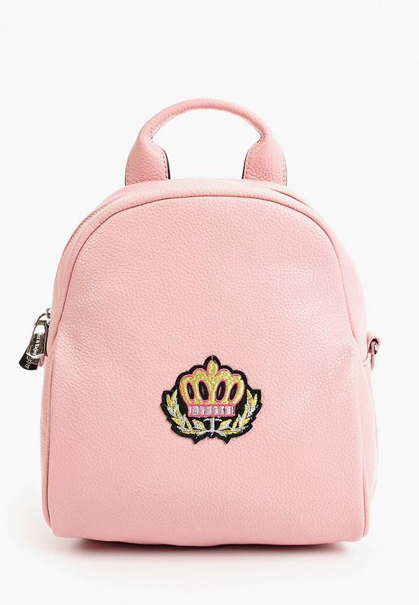 женский рюкзак max & enjoy, розовый