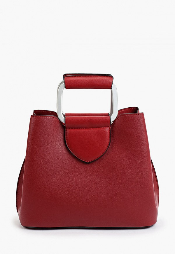 женская сумка с ручками max & enjoy, красная