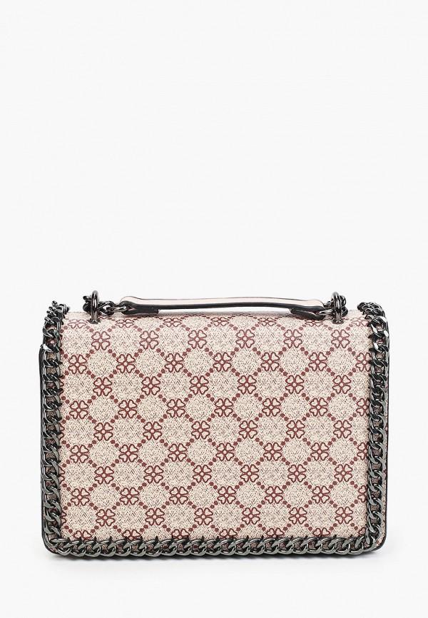женская сумка через плечо max & enjoy, розовая