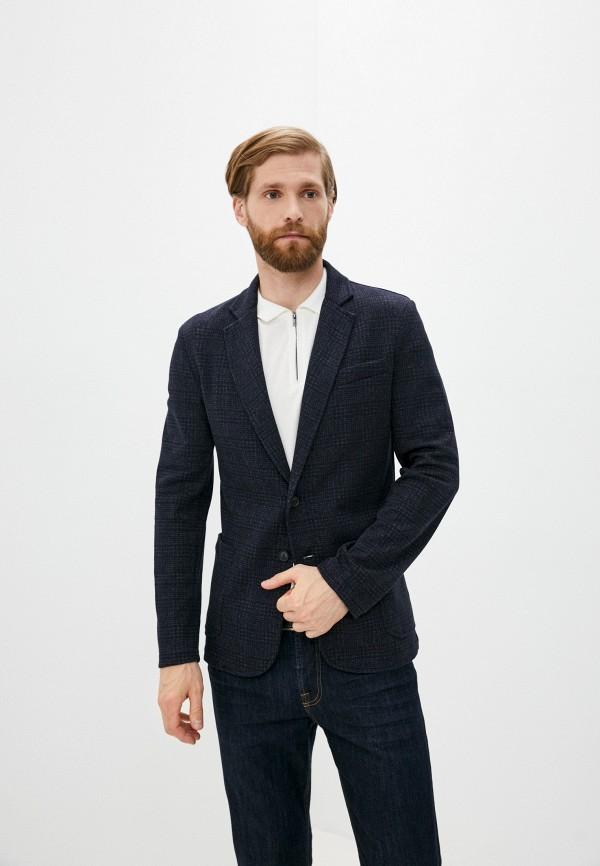 мужской пиджак trussardi, синий