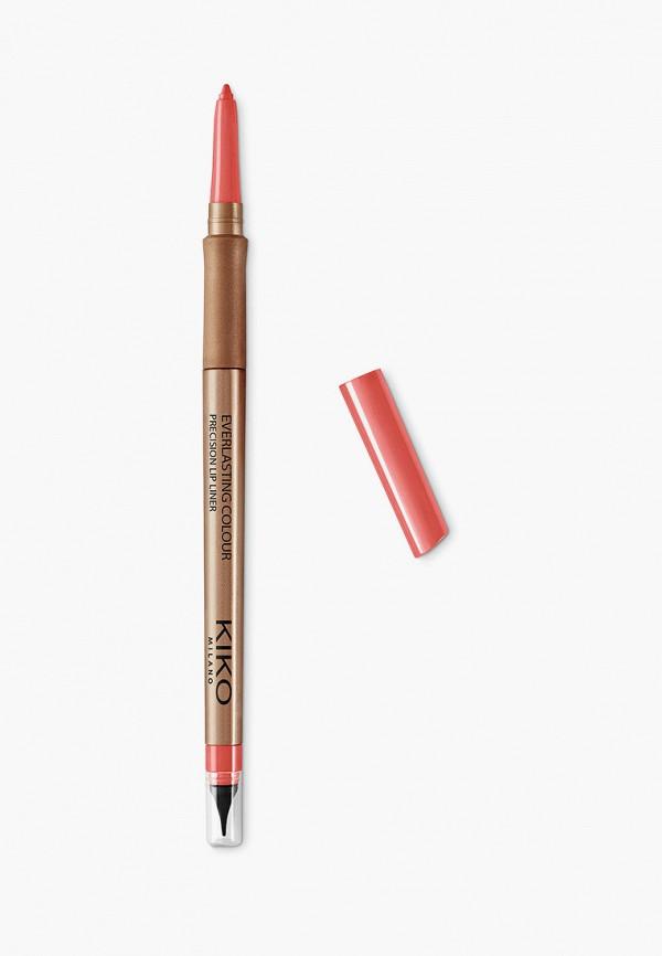 женский карандаш для губ kiko milano, розовый