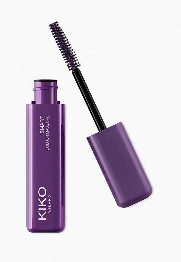 женский тушь для ресниц kiko milano, фиолетовый