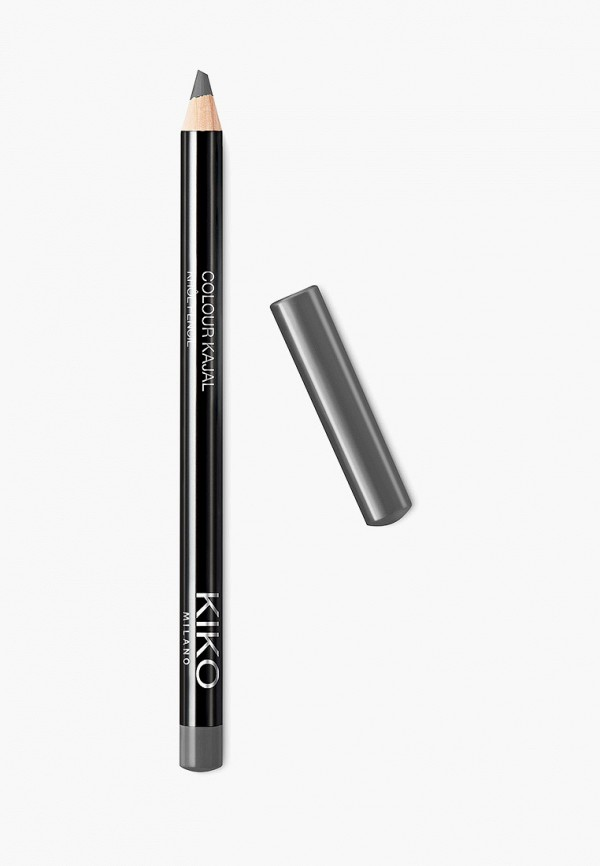 женский карандаш для глаз kiko milano, серый