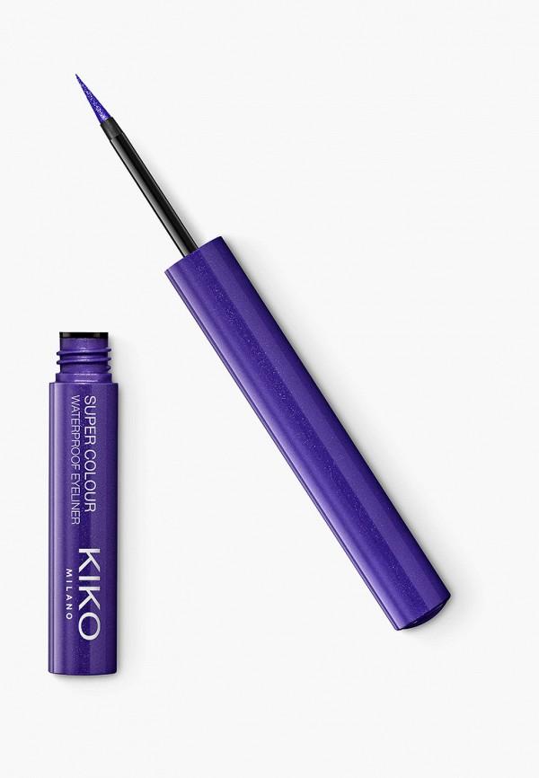 женский подводка для глаз kiko milano, фиолетовый