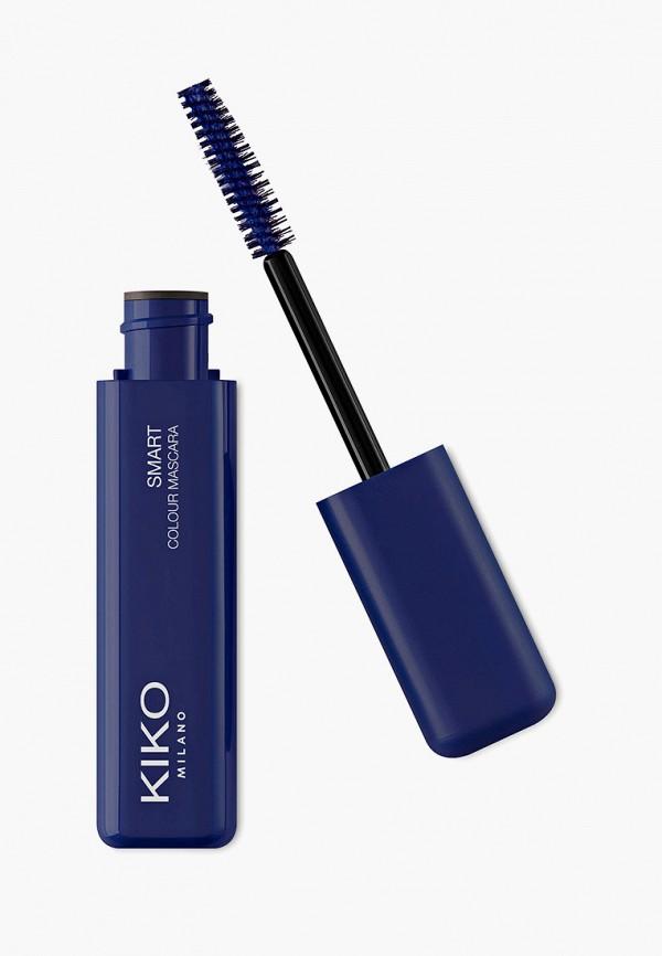 женский тушь для ресниц kiko milano, синий