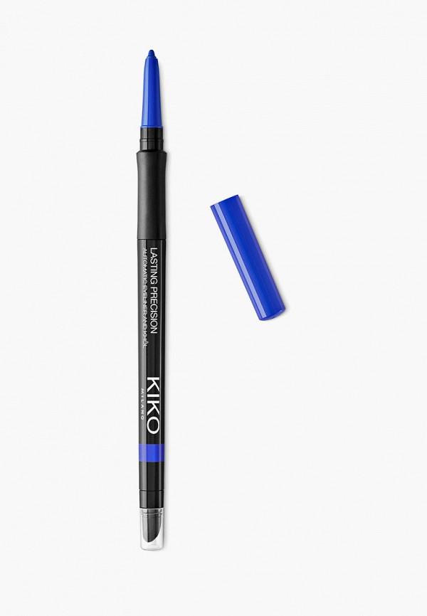 женский карандаш для глаз kiko milano, синий