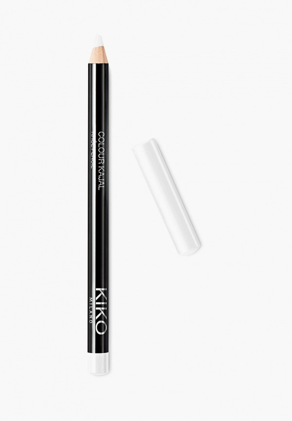 женский карандаш для глаз kiko milano, белый