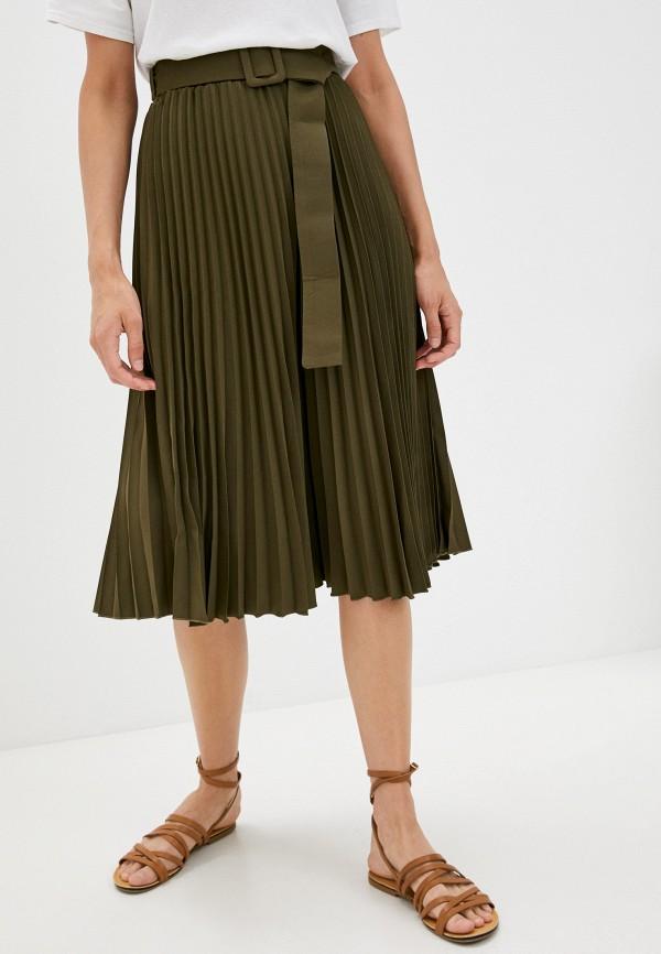 женская юбка francesca peretti, хаки