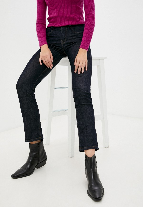 женские прямые джинсы salsa, синие