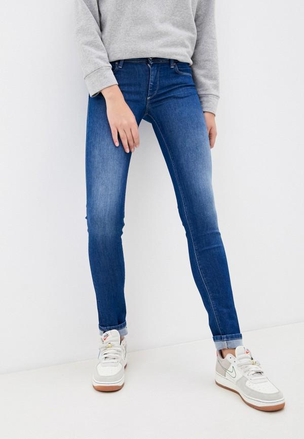 женские джинсы с push-up salsa, синие