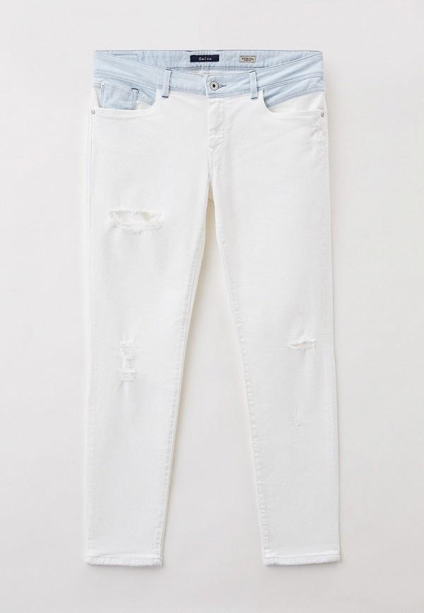 женские джинсы скинни salsa, белые