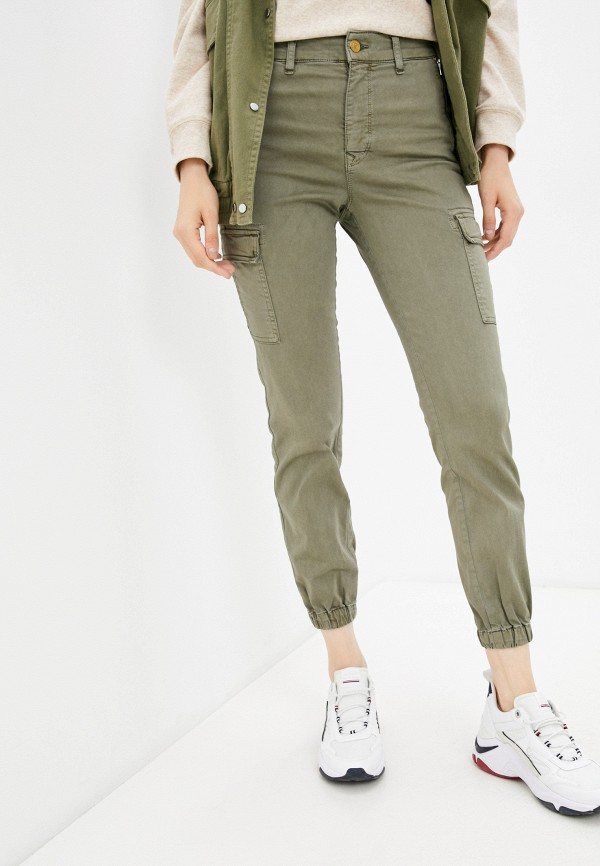 женские брюки карго salsa, хаки