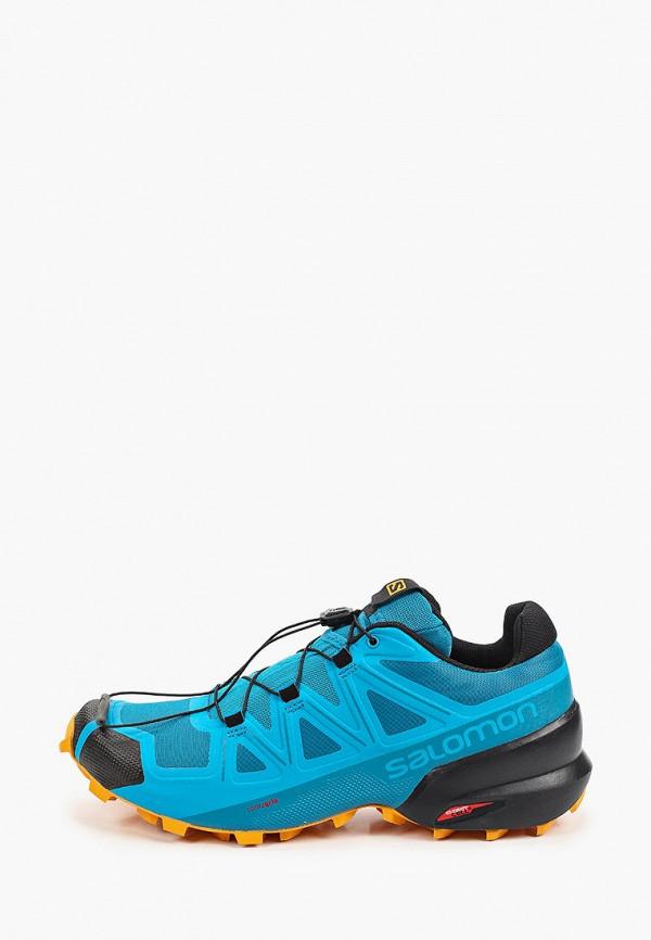 мужские низкие кроссовки salomon, синие