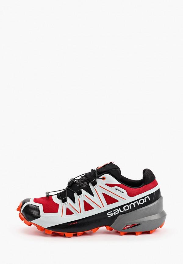 мужские низкие кроссовки salomon, разноцветные
