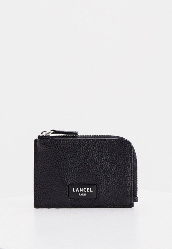 женский кошелёк lancel, черный