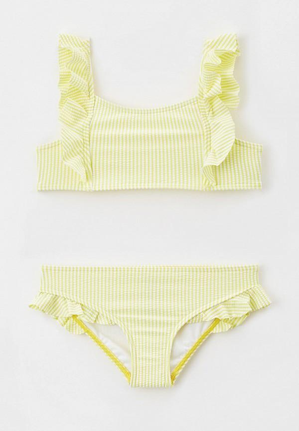 купальник marks & spencer для девочки, желтый