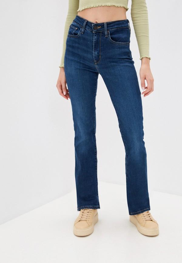 женские джинсы клеш levi's®, серебряные