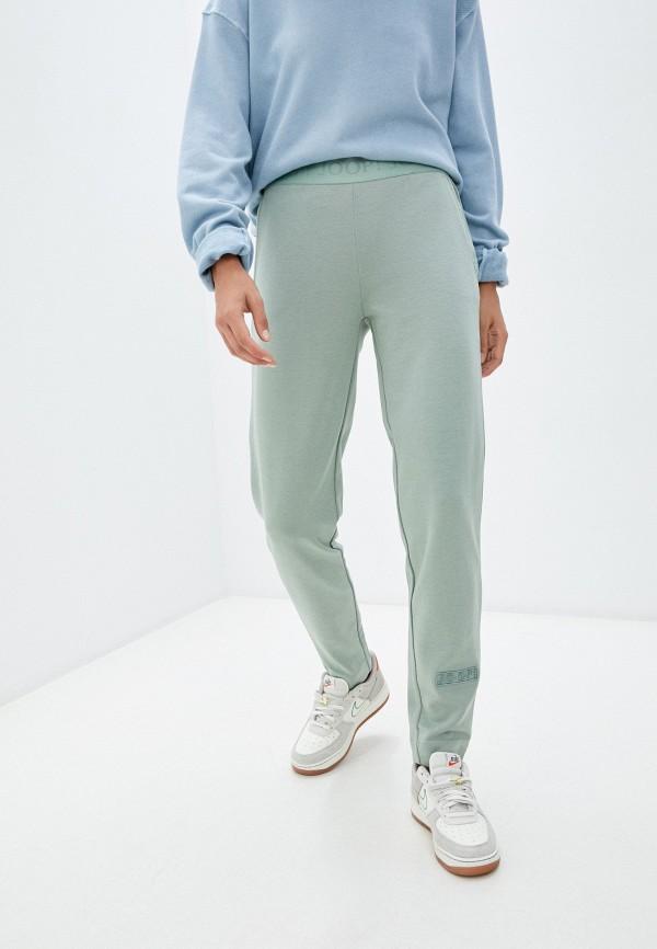 женские спортивные брюки joop!, зеленые