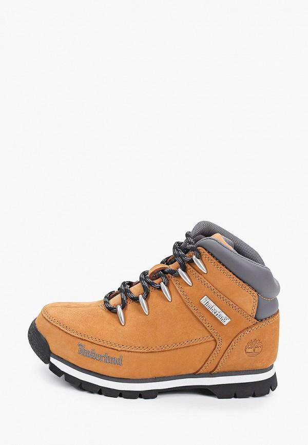 ботинки timberland для мальчика, коричневые