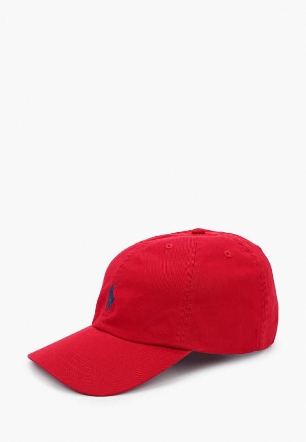бейсболка polo ralph lauren для мальчика, красная