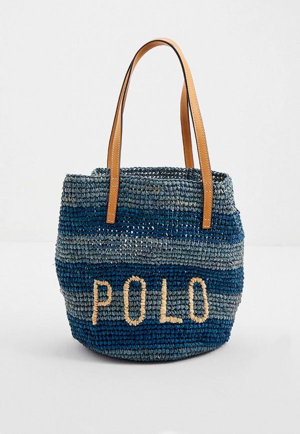 женская сумка через плечо polo ralph lauren, разноцветная