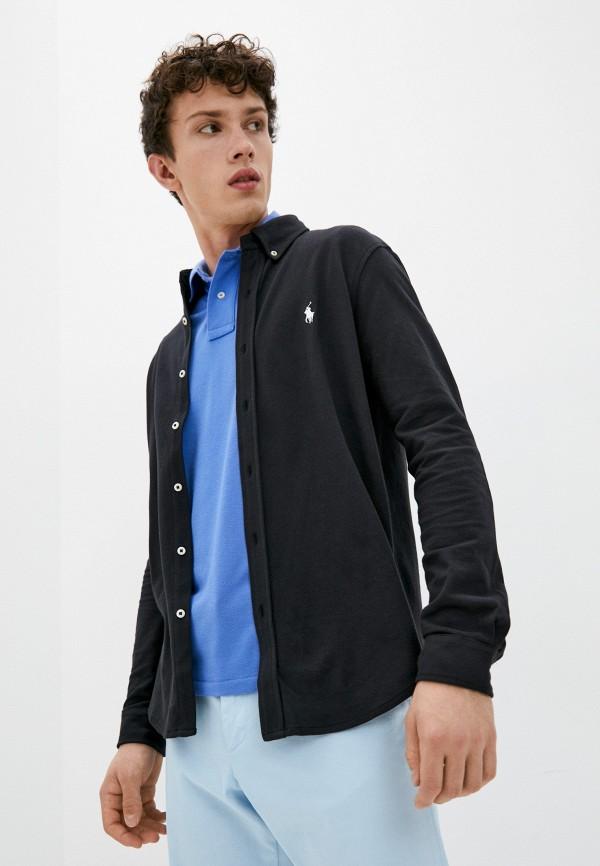 Рубашка Polo Ralph Lauren черного цвета
