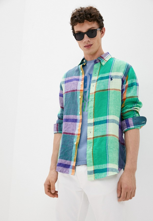 Рубашка Polo Ralph Lauren разноцветного цвета