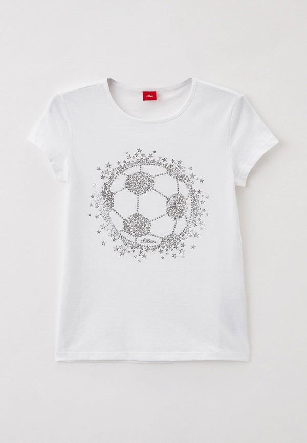 Футболка s.Oliver белого цвета