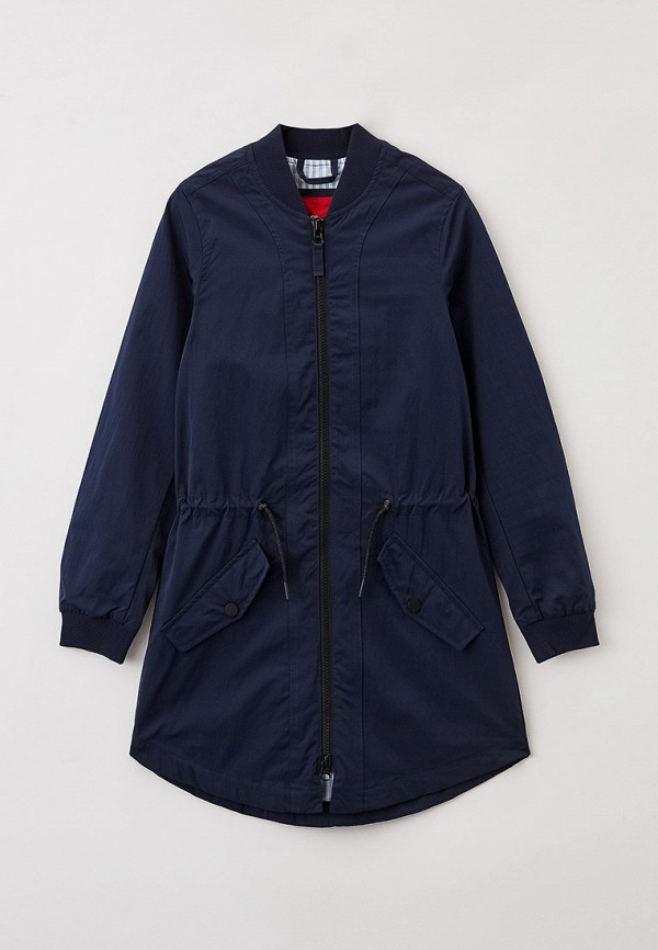 легкие куртка s.oliver для девочки, синяя