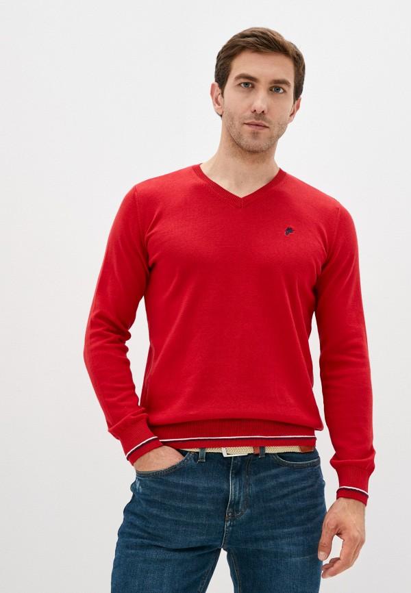 мужской пуловер denim culture, красный
