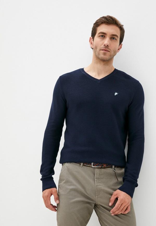мужской пуловер denim culture, синий