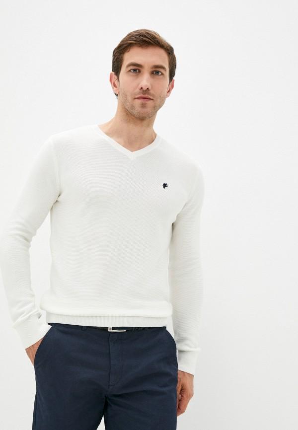 мужской пуловер denim culture, бежевый