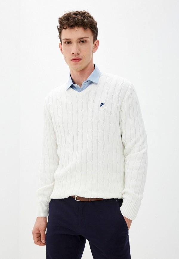 мужской пуловер denim culture, белый
