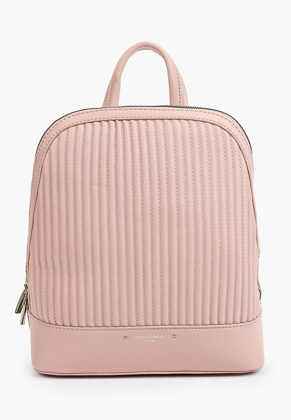 женский рюкзак david jones, розовый