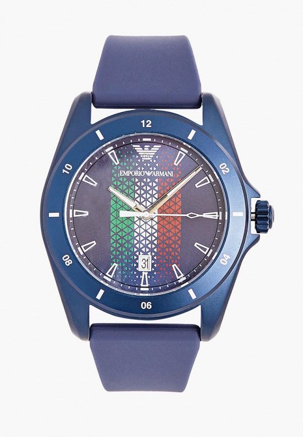 женские часы emporio armani, синие